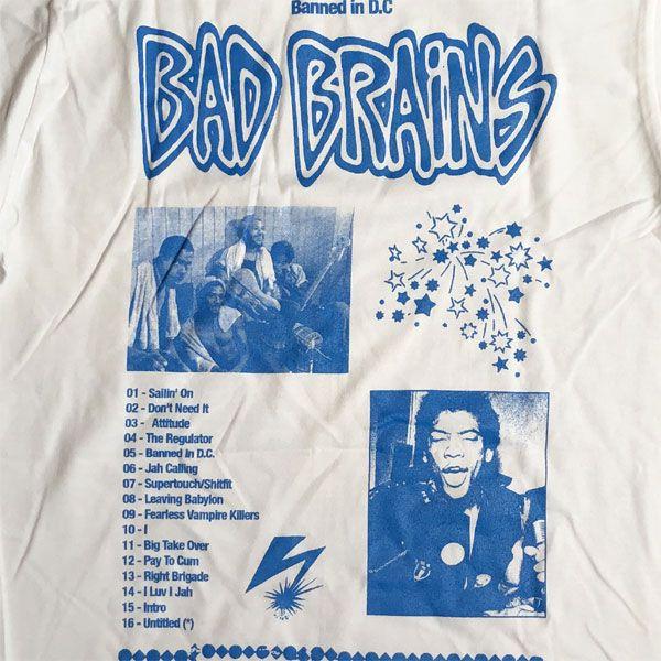 BAD BRAINS ロングスリーブTシャツ BANNED IN DC