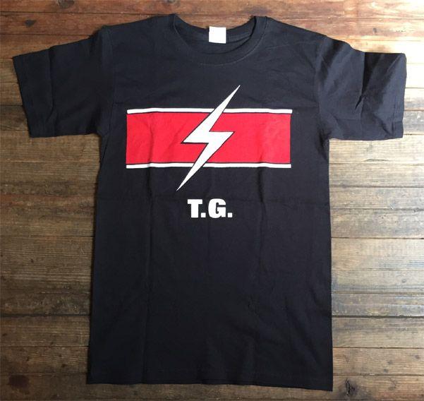 Throbbing Gristle Tシャツ LOGO