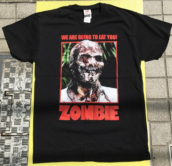 ZOMBIE Tシャツ We Are Going To Eat You!