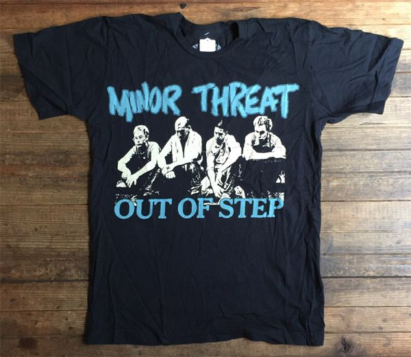MINOR THREAT Tシャツ OUT OF STEP PHOTO オフィシャル!