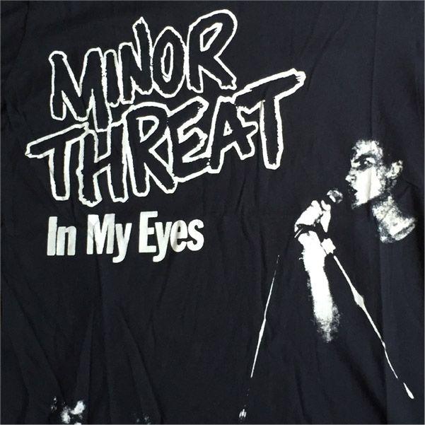 MINOR THREAT Tシャツ IN MY EYES オフィシャル!
