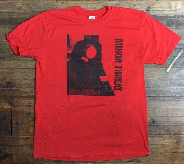 MINOR THREAT Tシャツ Filler オフィシャル