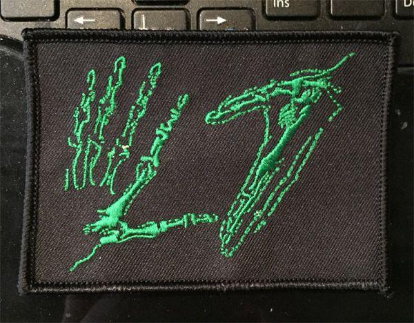 L7 刺繍ワッペン HAND LOGO