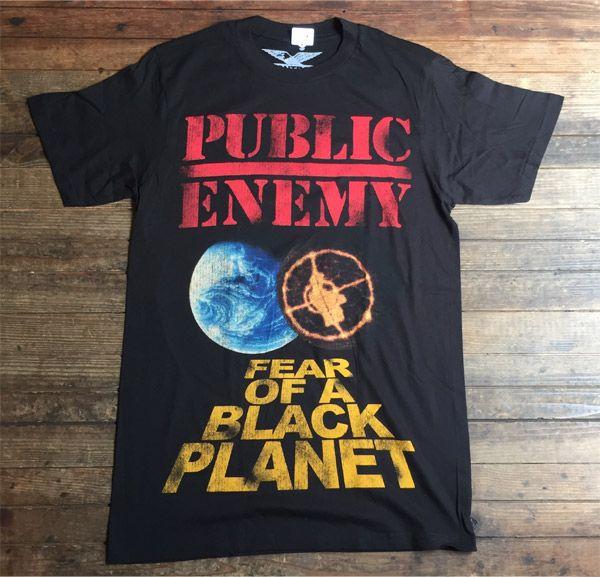 PUBLIC ENEMY Tシャツ FEAR OF A BLACK PLANET OFFICIAL!