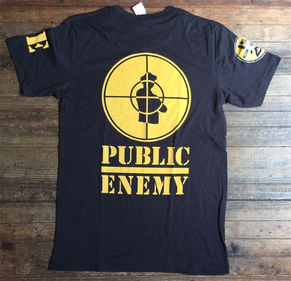 PUBLIC ENEMY Tシャツ 25TH OFFICIAL!