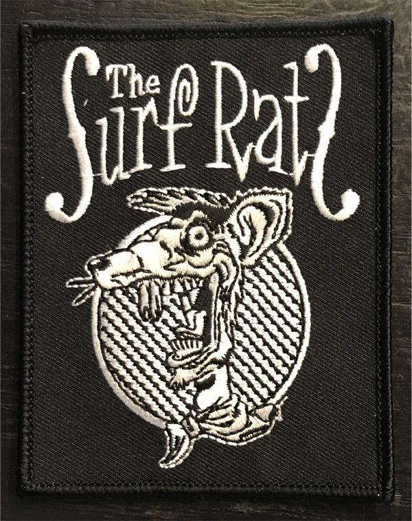 SURF RATS 刺繍ワッペン
