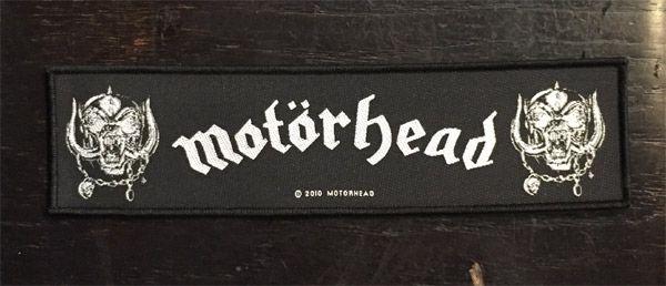 MOTORHEAD 刺繍ワッペン Logo bumper