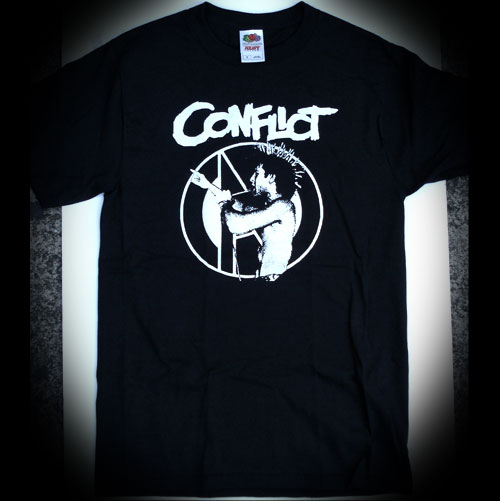 CONFLICT Tシャツ Colin Jerwood