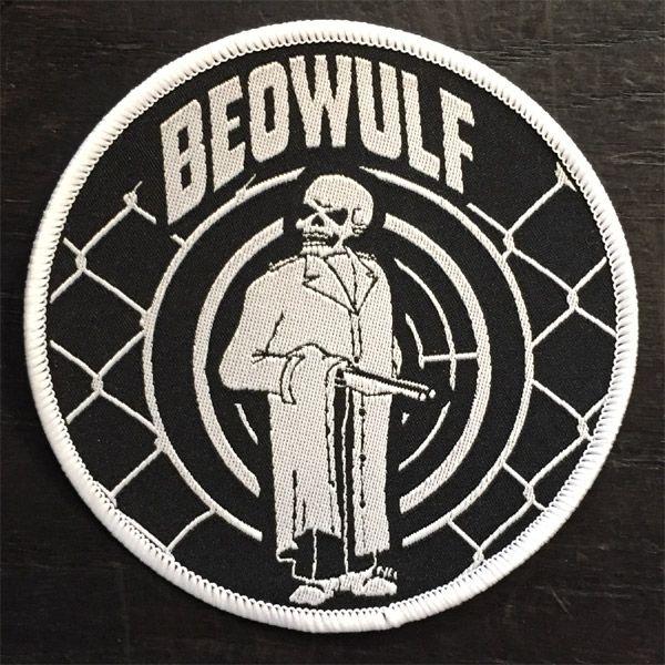 BEOWULF 刺繍ワッペン SKULL