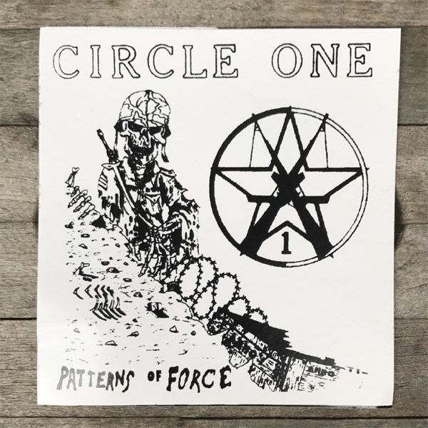 CIRCLE ONE ステッカー Patterns Of Force