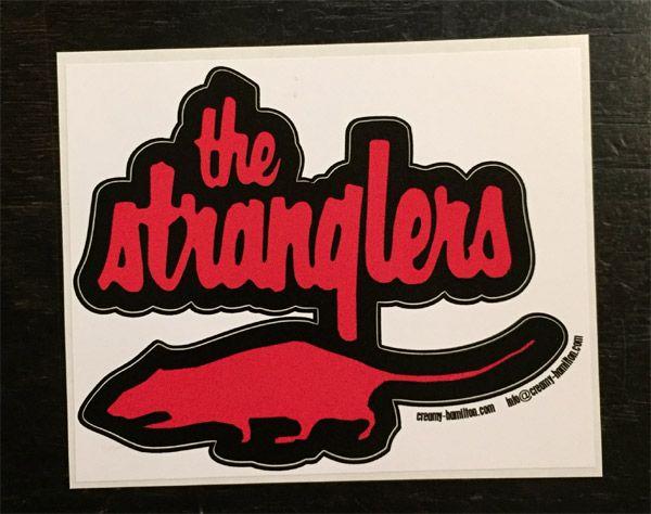 STRANGLERS ステッカー RAT ダイカット