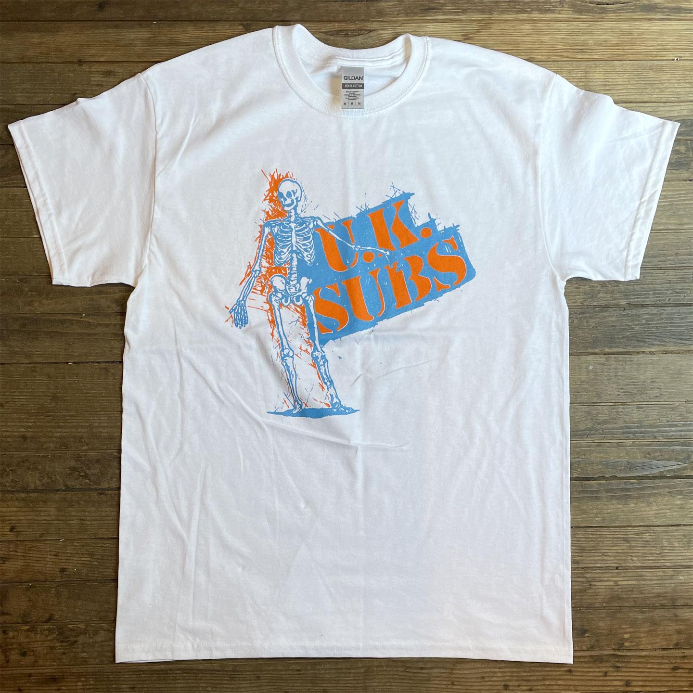 UK SUBS Tシャツ SKULL