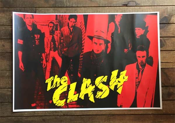 THE CLASH POSTER PHOTO
