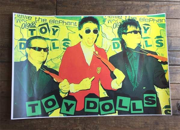 TOY DOLLS POSTER