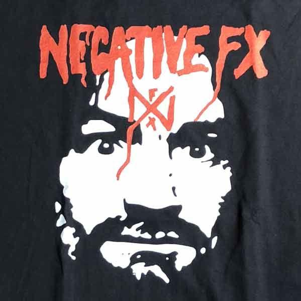NEGATIVE FX Tシャツ BOSTON HARDCORE