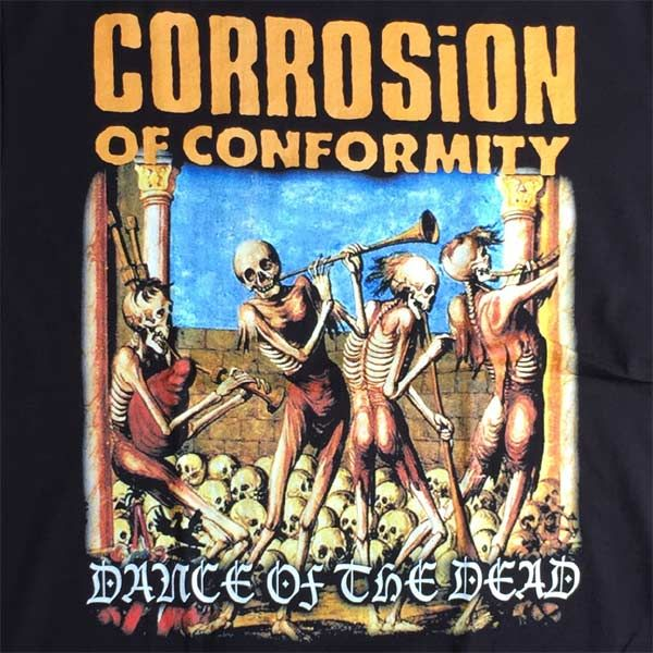 CORROSION OF CONFORMITY Tシャツ DANCE OF THE DEAD
