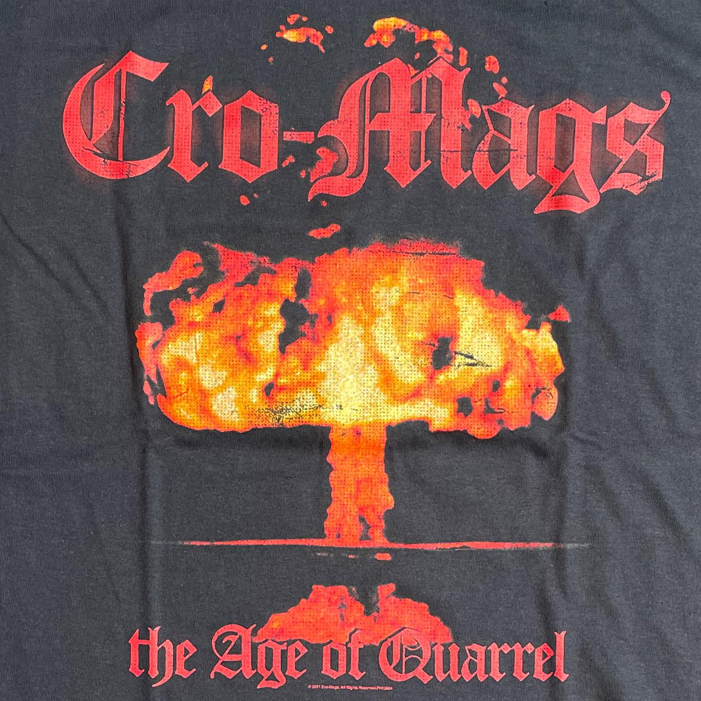 CRO-MAGS Tシャツ THE AGE OF QUARREL オフィシャル!