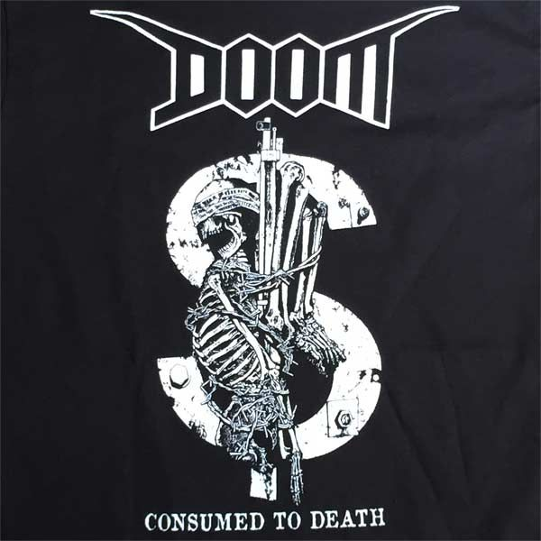DOOM Tシャツ Consumed To Death