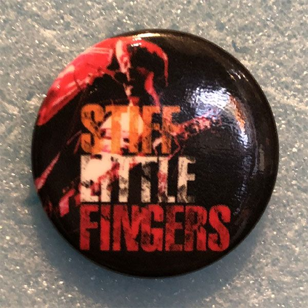 STIFF LITTLE FINGERS レア小バッジ PHOTO