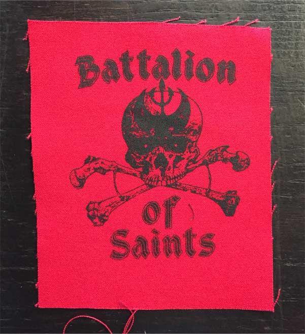 BATTALION OF SAINTS PATCH SKULL