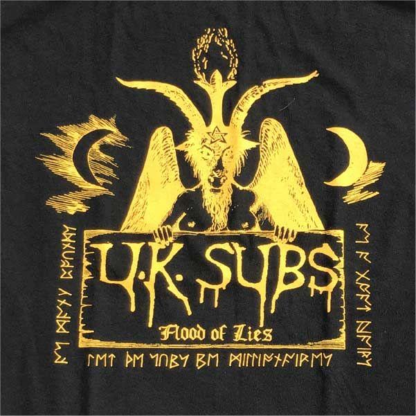 UK SUBS Tシャツ Flood Of Lies