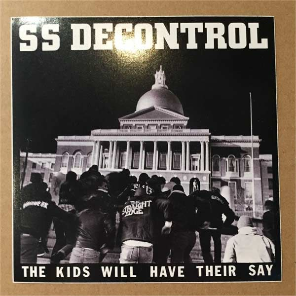 SSD ステッカー THE KIDS WILL HAVE THEIR SAY 2