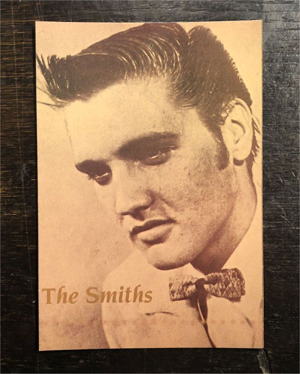 THE SMITHS VINTAGEポストカード Shoplifters Of The World Unite