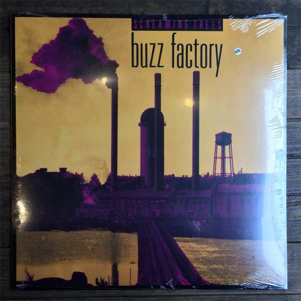 """SCREAMING TREES 12"""" LP BUZZ FACTORY"""