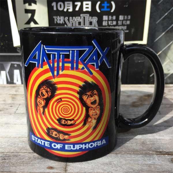 ANTHRAX マグカップ STATE OF EUPHORIA
