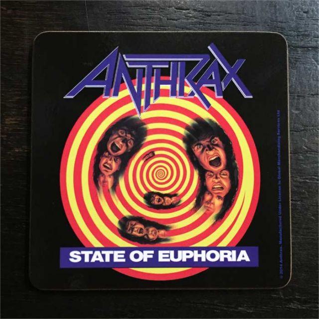 ANTHRAX コースター