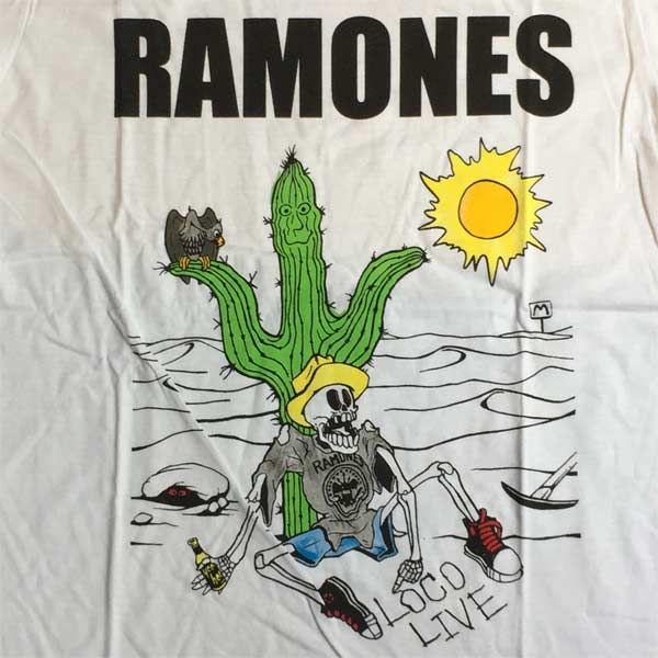 RAMONES Tシャツ LOCO LIVE