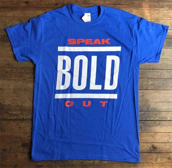 BOLD Tシャツ SPEAKOUT2