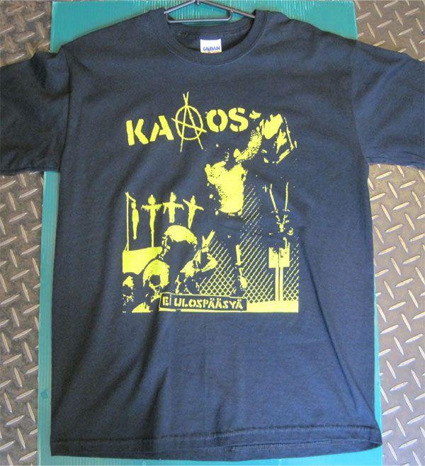 KAAOS Tシャツ EL ULOSPAASYA