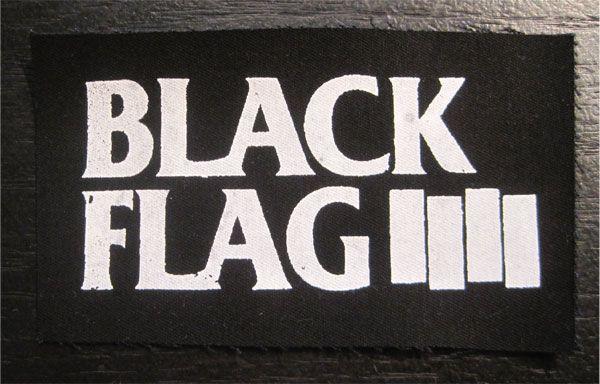 BLACK FLAG PATCH BARS&LOGO