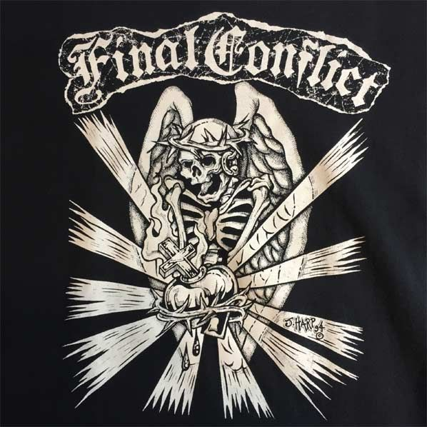 USED! FINAL CONFLICT Tシャツ TOUR オリジナル
