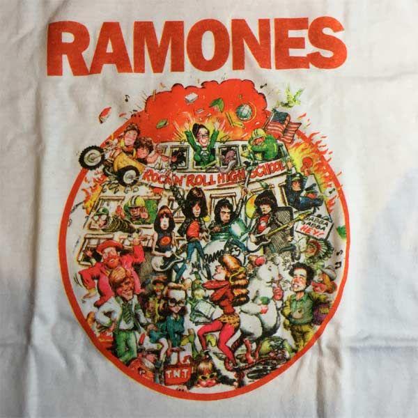 RAMONES Tシャツ rock'n'roll high school
