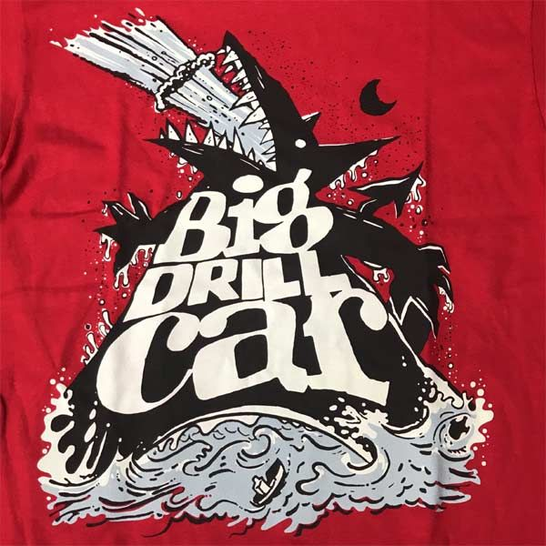 BIG DRILL CAR Tシャツ DOG