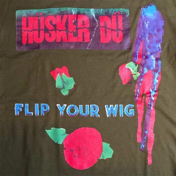 HUSKER DU Tシャツ FLIP YOUR WIG OFFICIAL!