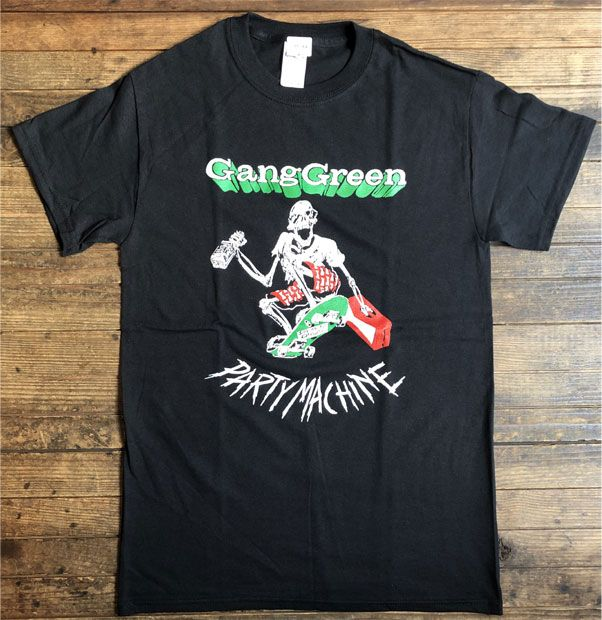 GANG GREEN Tシャツ PARTY MACHINE
