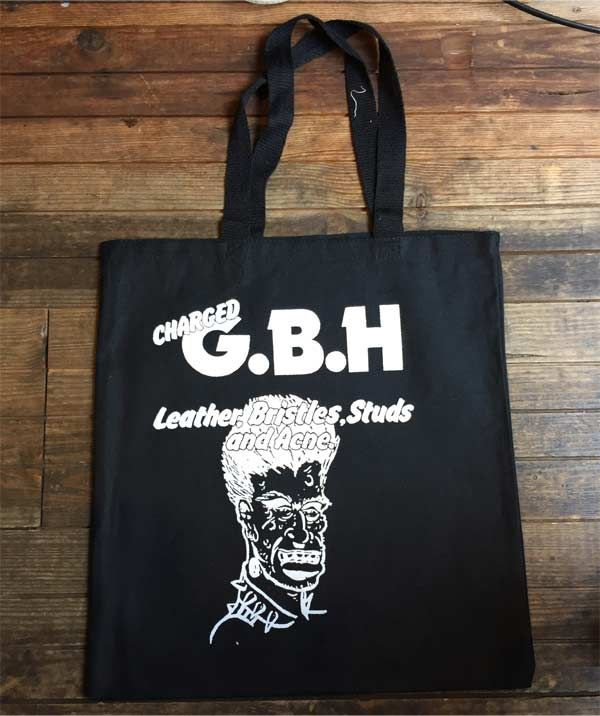G.B.H TOTEBAG Leather, Bristles, Studs And Acne