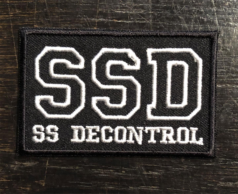 SSD 刺繍ワッペン SS DECONTROL