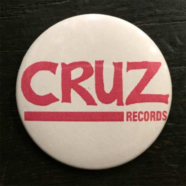 CRUZ RECORDS バッジ LOGO
