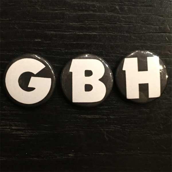 G.B.H バッジセット LOGO