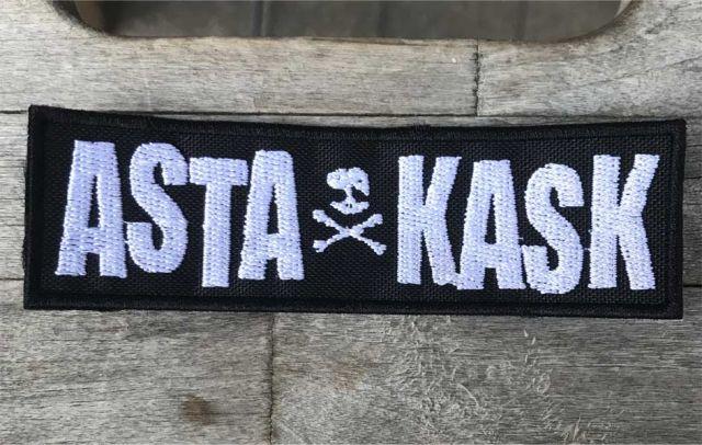 ASTA KASK 刺繍ワッペン LOGO