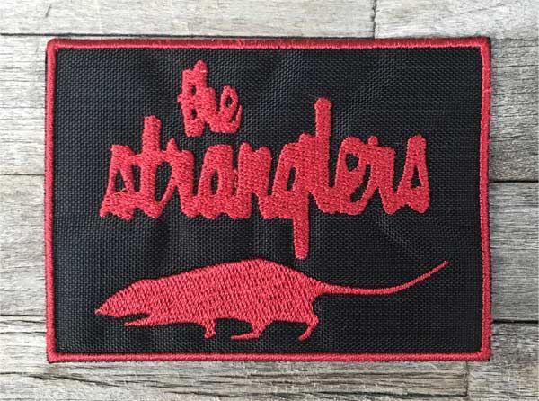 THE STRANGLERS 刺繍ワッペン RAT