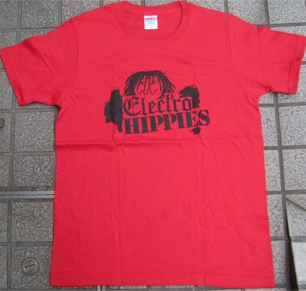 ELECTRO HIPPIES Tシャツ ロゴ&イラスト