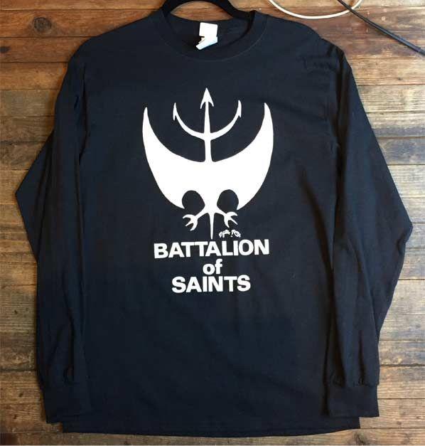 BATTALION OF SAINTS ロンT ロゴ