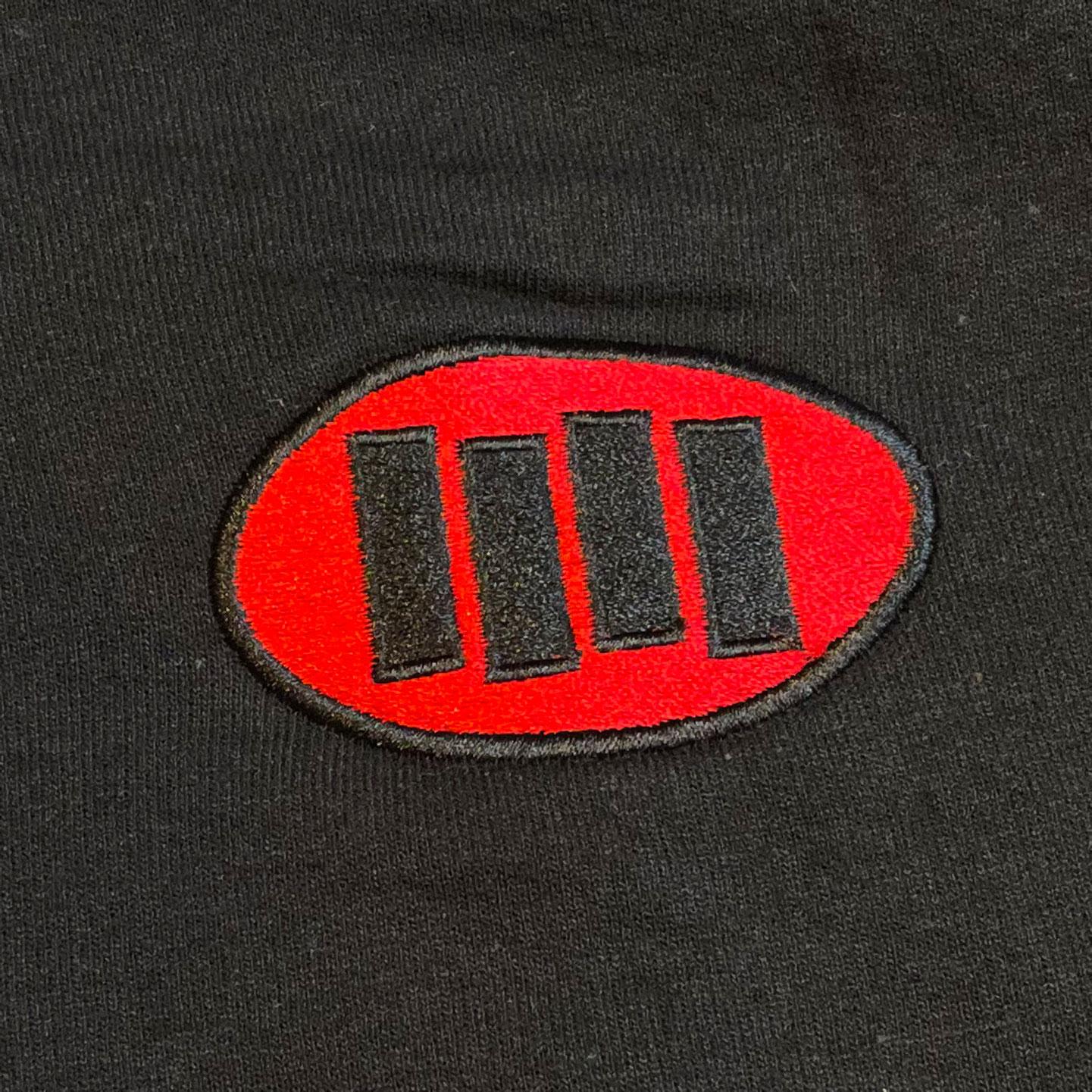 BLACK FLAG パーカー OVAL LOGO