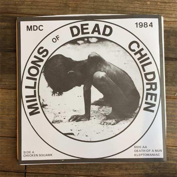 "MDC 7"" EP Millions Of Dead Children"