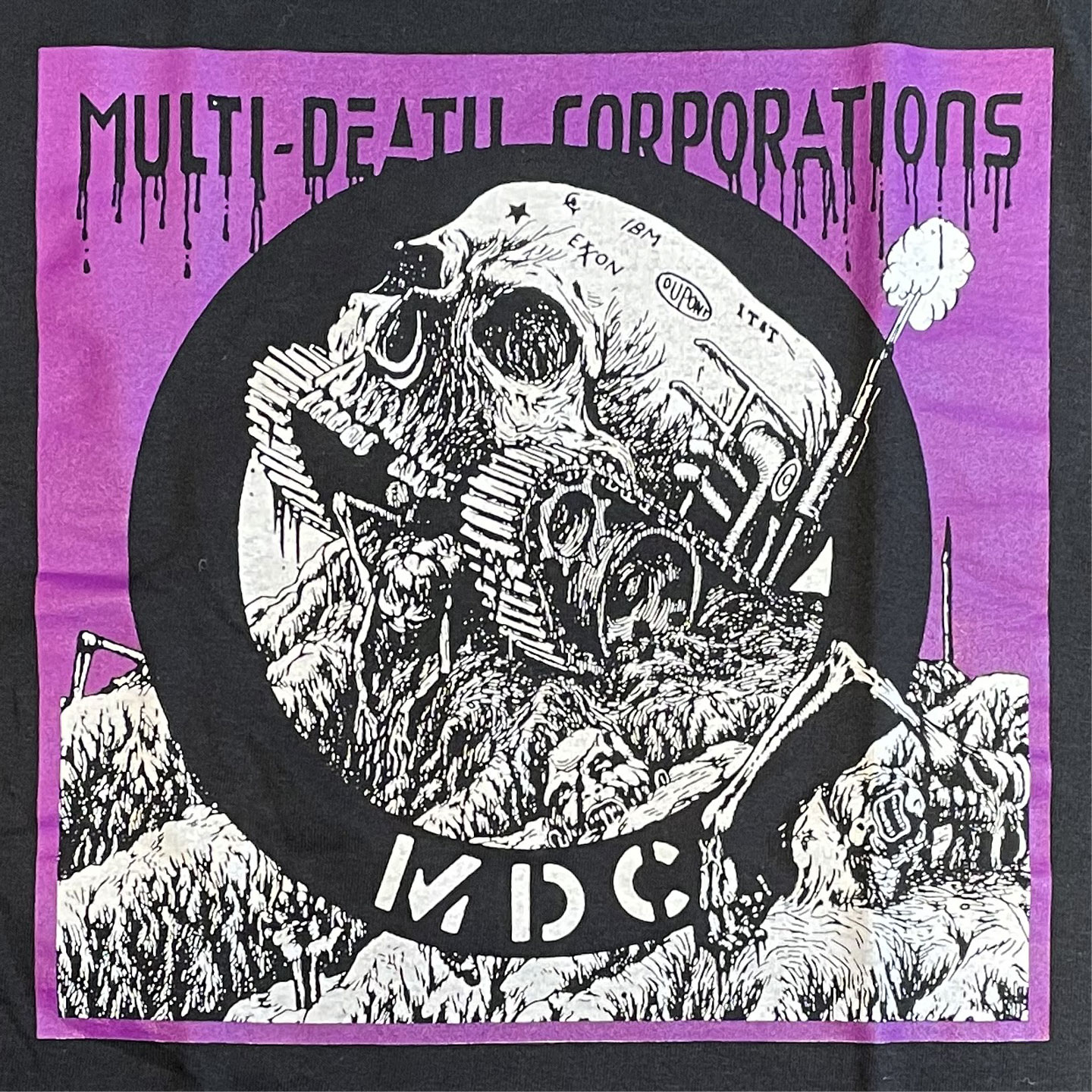 MDC Tシャツ MULTI-DEATH CORPORATIONS 3